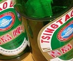 Tsingtao-Bier in China - war auch mal deutsch...