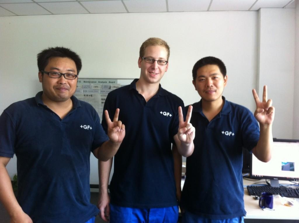 Arbeiten in China, Teamwork