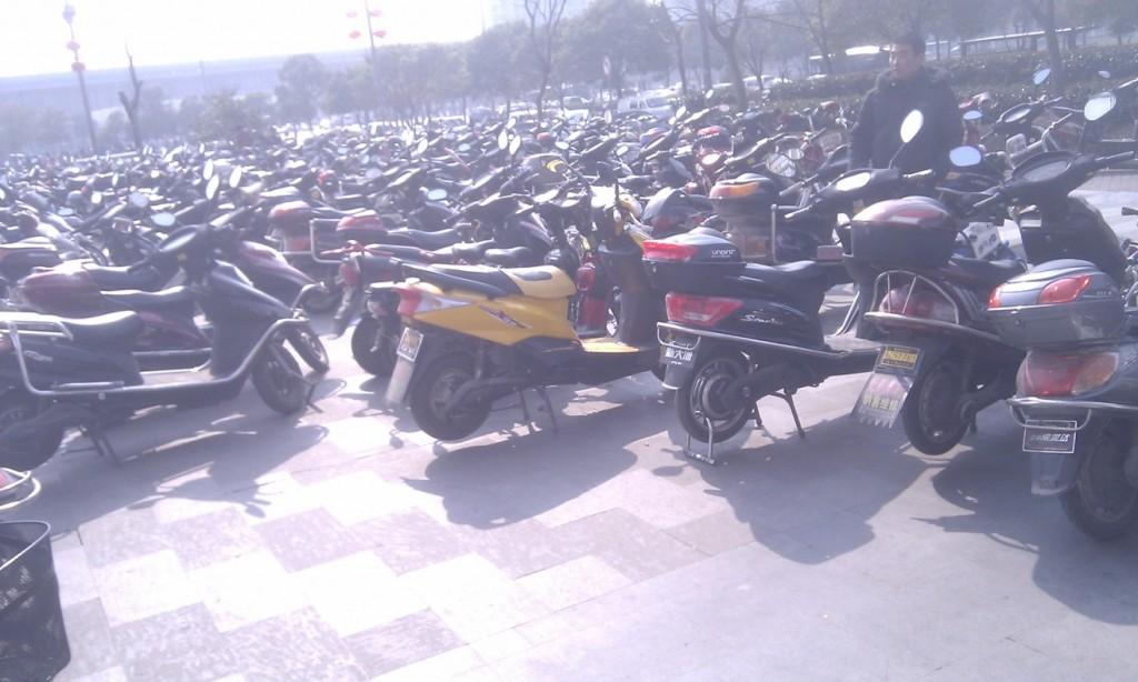 Verkehr in China, Motorroller