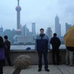 Bund Shanghai im Regen