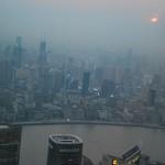 Luftverschmutzung in China Shanghai