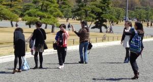 Chinesische Touristen im Japan-Fieber