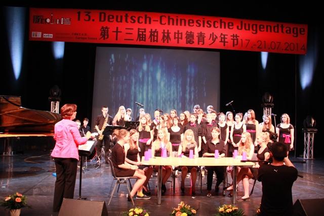 Deutsch-chinesische Jugendtage 2014