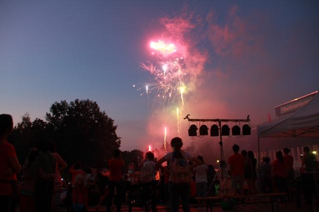 Deutsch-chinesische Jugendtage Feuerwerk