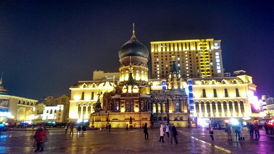 Die russisch-orthodoxe Sophienkathedrale