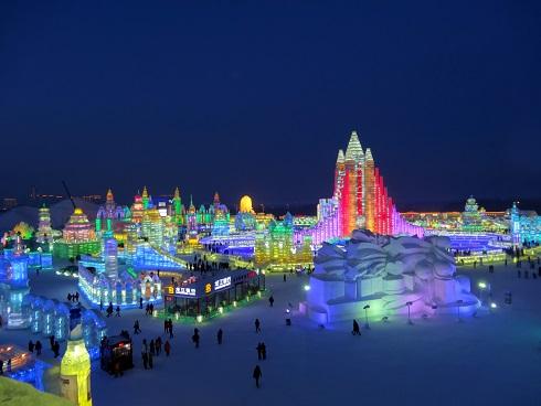 Eine Stadt aus Eis - ein atemberaubender Anblick