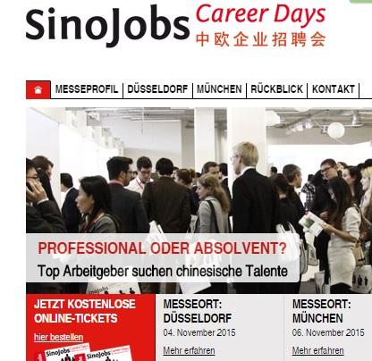 SinoJobs Career Days 2015