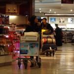 Chinesische Shopping-Lust auf Reisen