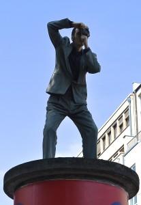 Fotograf auf dem Konrad-Adenauer-Platz
