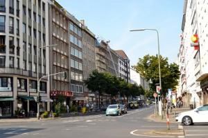 Kreuzung Friedrich-Ebert-Straße-Karlstraße