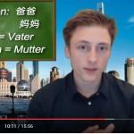 Chinesisch lernen mit Mr Mu im Lernvideo Lektionen 3 4
