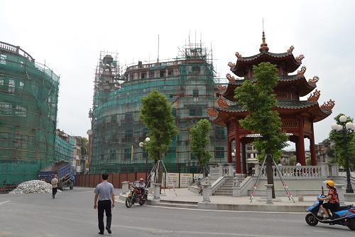 China Shantou Baustellen