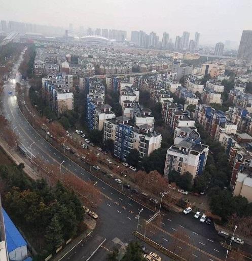 Coronavirus-Krisengebiet Wuhan